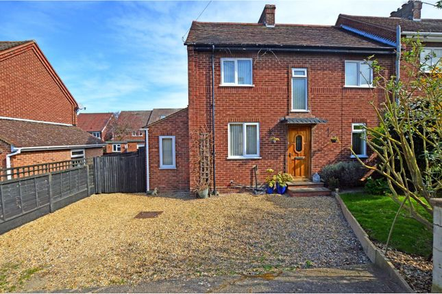 Thumbnail Semi-detached house for sale in Whitehall, Lidlington, Bedford