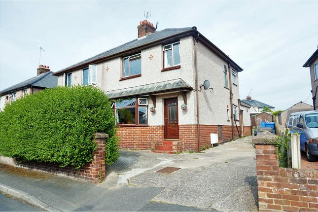 Thumbnail Semi-detached house for sale in Llewelyns Estate, Denbigh
