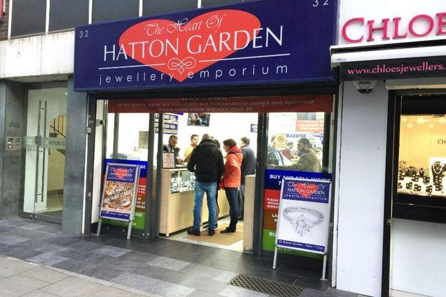 Thumbnail Retail premises for sale in Hatton Garden, London