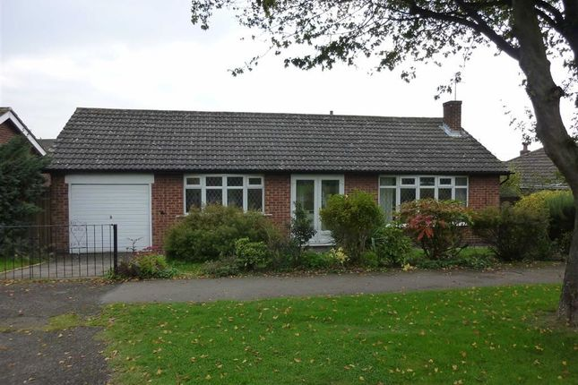 Thumbnail Detached bungalow to rent in Grace Road, Sapcote, Leicester