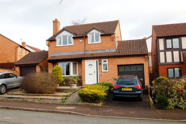 Thumbnail Detached house to rent in Vaga Crescent, Wyecroft Park, Ross On Wye, Herefordshire