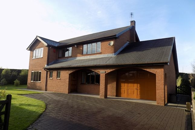 Thumbnail Detached house for sale in Tryweryn Waterton Road, Coychurch, Bridgend.