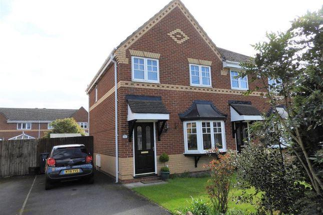 Thumbnail Semi-detached house to rent in Woodburn Grove, Penwortham, Preston