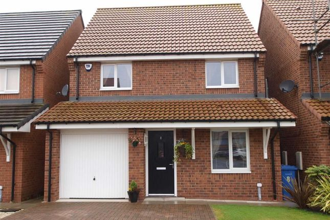 Thumbnail Detached house for sale in Alexandra Chase, Cramlington