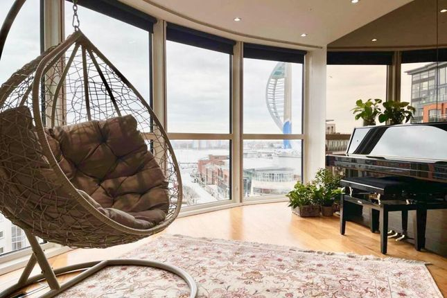 Thumbnail Flat to rent in Gunwharf Quays, Portsmouth
