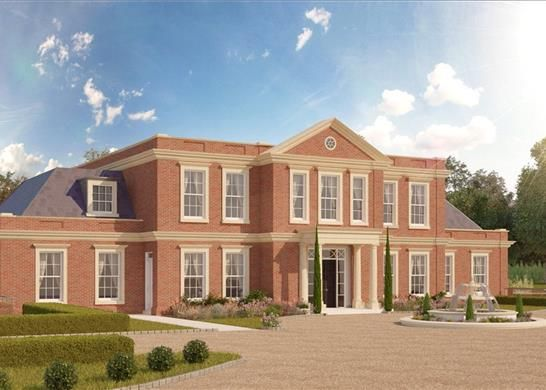 Thumbnail Detached house for sale in Wentworth Estate, Virginia Water, Surrey