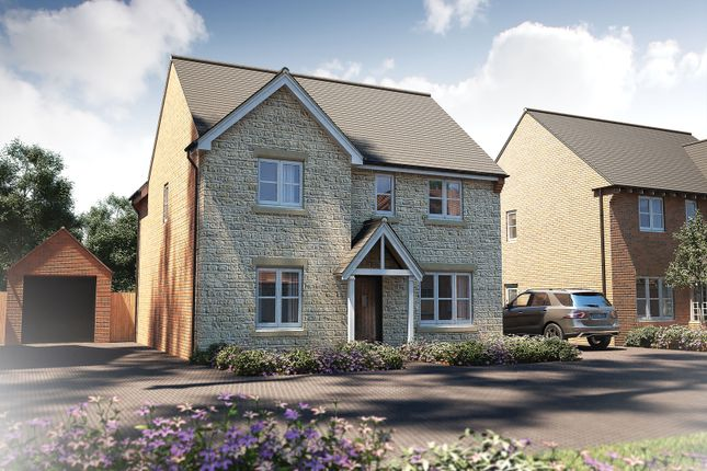 """Thumbnail Detached house for sale in """"The Berrington"""" at Witney Road, Kingston Bagpuize, Abingdon"""