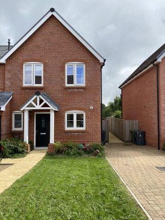 Thumbnail End terrace house for sale in Meryton Drive, Medstead, Alton