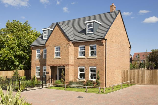 "Thumbnail Detached house for sale in ""Lichfield"" at Station Road, Langford, Biggleswade"