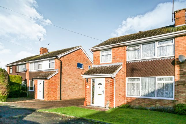 Thumbnail Semi-detached house for sale in Manor Way, Higham Ferrers, Rushden