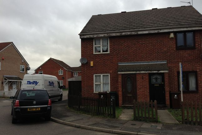 Thumbnail End terrace house for sale in Blossom Close, Dagenham