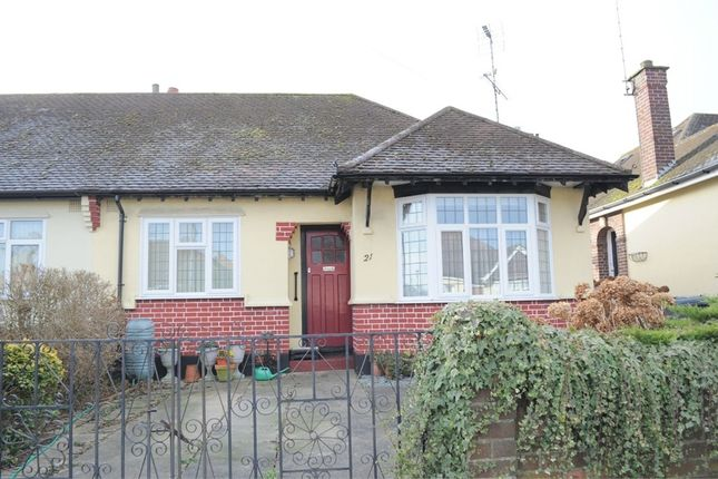 Thumbnail Semi-detached bungalow for sale in Skerry Rise, Chelmsford, Essex