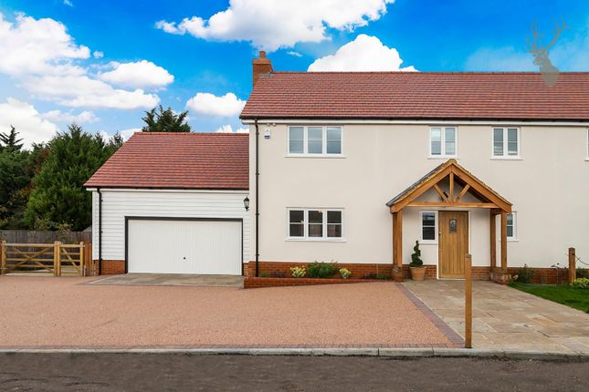 Thumbnail Semi-detached house for sale in Nazeing Common, Nazeing, Essex
