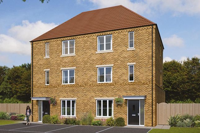 """Thumbnail Semi-detached house for sale in """"The Ledbury"""" at Pastures Road, Mexborough"""