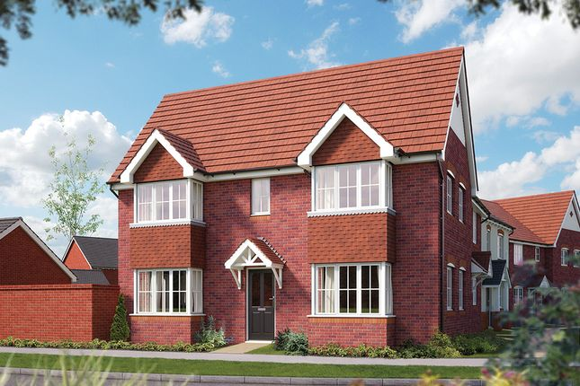 """Thumbnail Semi-detached house for sale in """"The Malmesbury"""" at Weights Lane Business Park, Weights Lane, Redditch"""