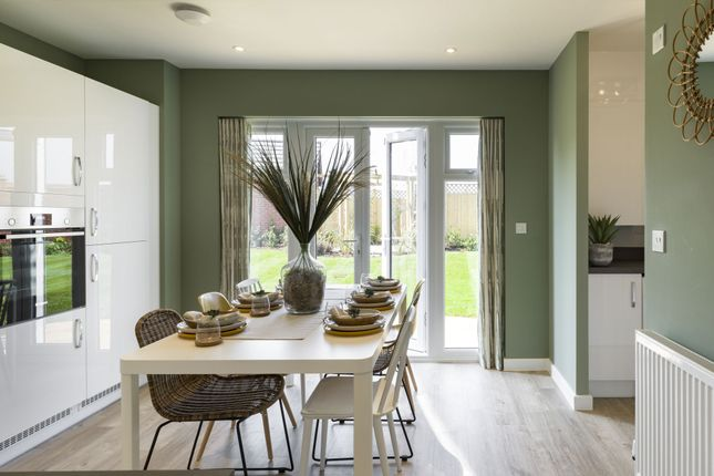 "Thumbnail Semi-detached house for sale in ""The Byron"" at Wood Lane, Binfield, Bracknell"