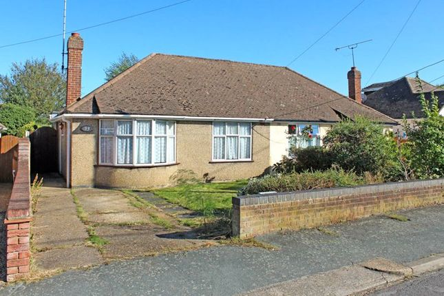 2 bed semi-detached bungalow for sale in Margarite Way, Wickford SS12
