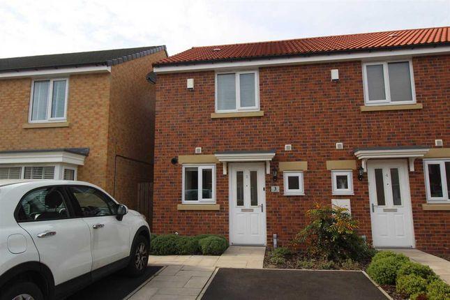 Thumbnail Terraced house for sale in Corinto Close, Collingwood Grange, Cramlington