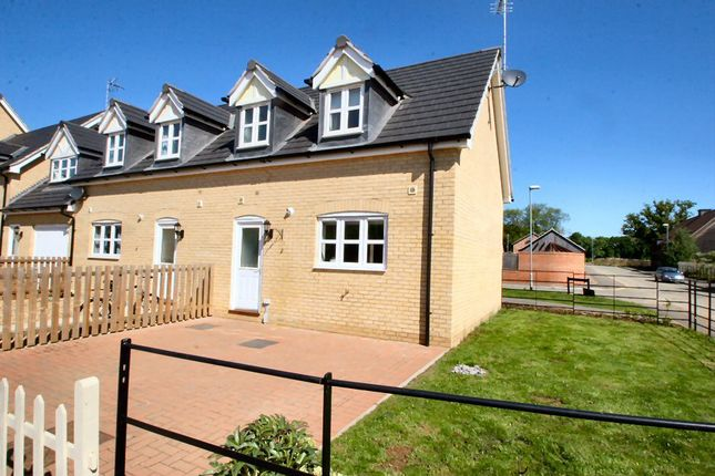 Thumbnail End terrace house to rent in Coltsfoot Close, Barleythorpe, Oakham