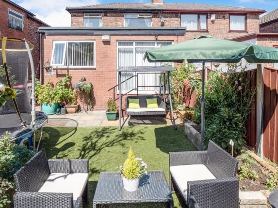 Garden of Dorchester Road, Swinton, Manchester, Greater Manchester M27