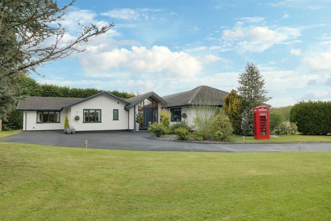 Thumbnail Detached bungalow for sale in Nursery Road, Oakhanger, Crewe