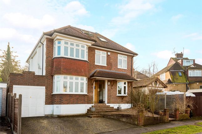 Thumbnail Detached house for sale in Downs Way, Epsom, Surrey