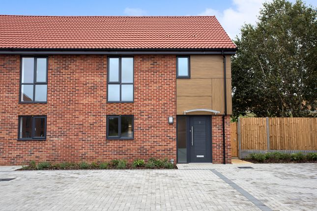 Thumbnail Semi-detached house for sale in Maple Park, Long Stratton, Norwich