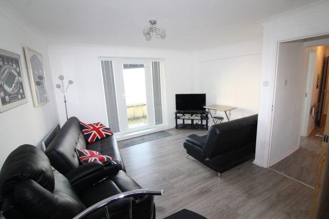1 bed flat to rent in Ocean Crescent, Maritime Quarter, Swansea SA1