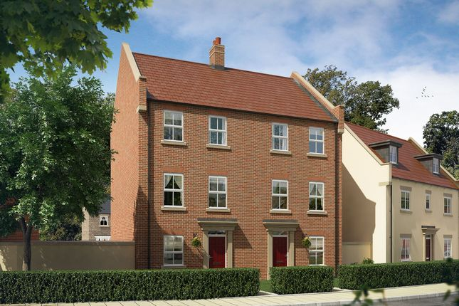 "Thumbnail Town house for sale in ""The Ash"" at Perth Road, Bicester"