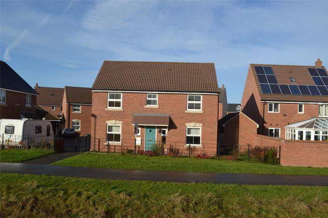 Thumbnail Detached house to rent in Fylingdales Gardens Kingsway, Quedgeley, Gloucester