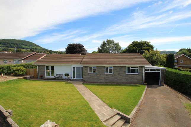 Thumbnail Detached bungalow for sale in Cresta Road, Abergavenny