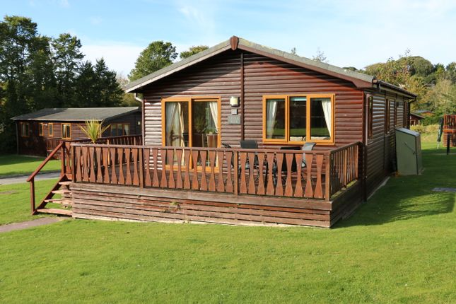 Thumbnail Lodge for sale in The Glade, St Minver Holiday Park