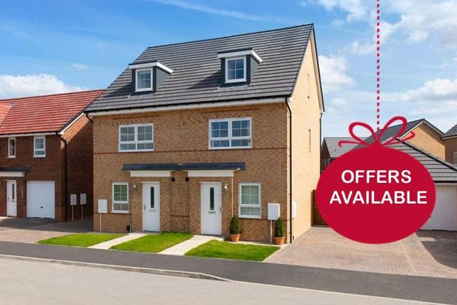 """Thumbnail Terraced house for sale in """"Kingsville"""" at Morgan Drive, Whitworth, Spennymoor"""
