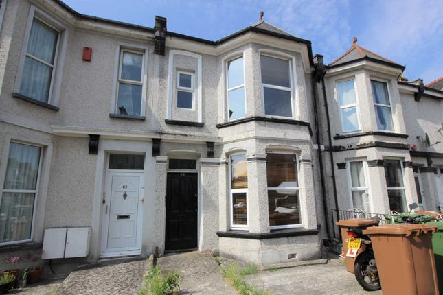 Thumbnail Flat to rent in Pasley Street, Stoke, Plymouth