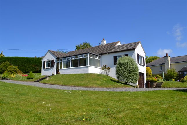 Thumbnail Detached bungalow for sale in Stamford Hill, Stratton, Bude