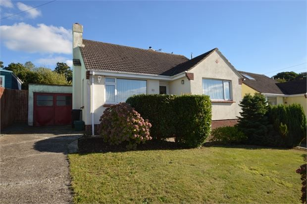 Thumbnail Detached bungalow for sale in Moorland View, Newton Abbot, Devon.