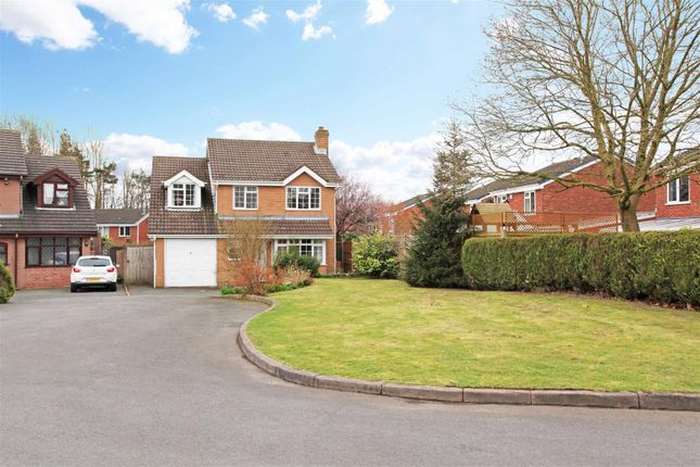 Thumbnail Detached house for sale in Peveril Bank, Dawley Bank, Telford