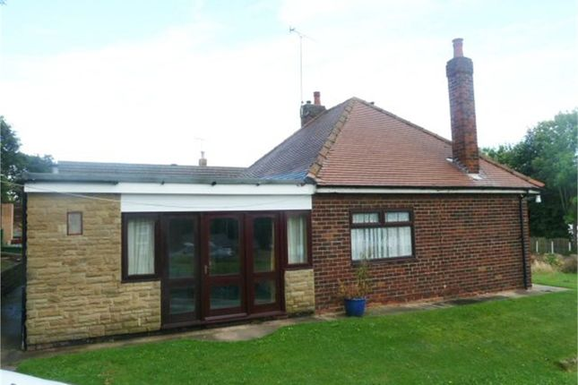 Thumbnail Detached bungalow for sale in Waggon Lane, Upton, Pontefract, West Yorkshire