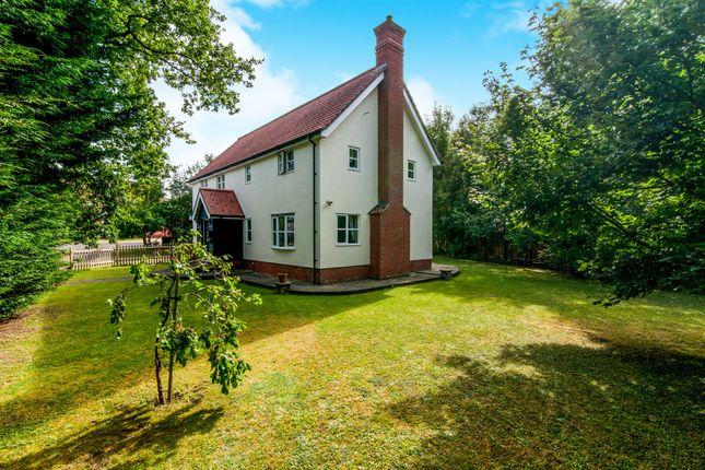Thumbnail Detached house for sale in Park View, Worlingworth, Woodbridge