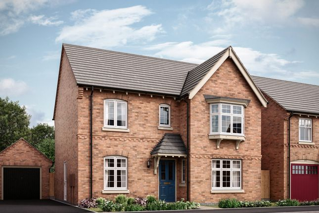 "Thumbnail Detached house for sale in ""The Darlington B"" at Long Street Road, Hanslope, Milton Keynes"