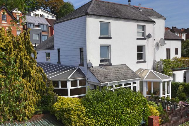Thumbnail Terraced house for sale in Crescent Street, Newtown, Powys