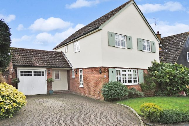 Thumbnail Detached house for sale in Martingale Close, Billericay