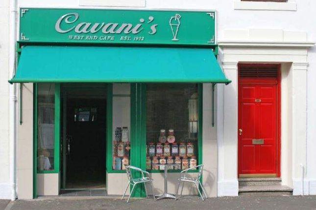 Thumbnail Retail premises for sale in Cavani's West End Cafe, 68 Hamilton Street, Saltcoats