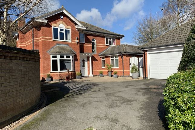 Thumbnail Detached house for sale in Hill Field, Oadby