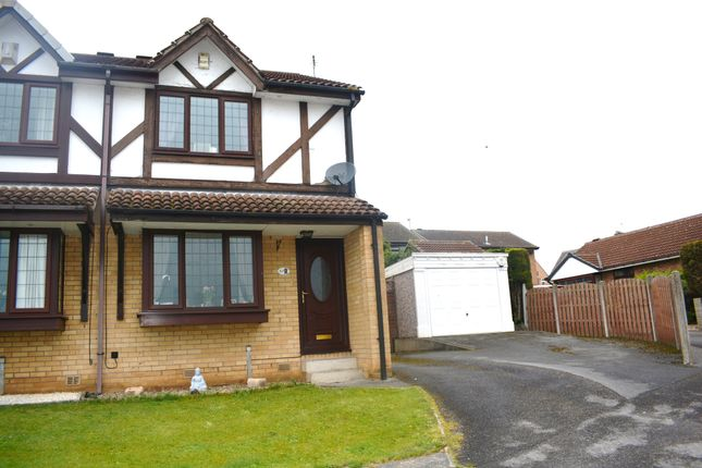 Thumbnail 2 bed semi-detached house for sale in Brampton Meadows, Thurcroft, Rotherham, South Yorkshire