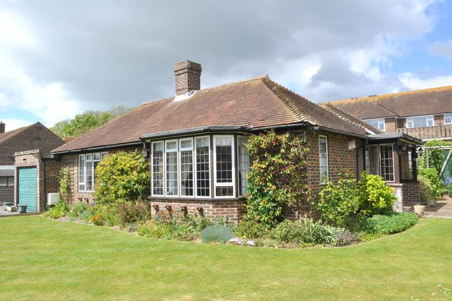 Thumbnail Detached bungalow for sale in Wenthill Close, East Dean, Eastbourne