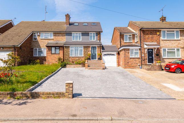 Thumbnail Semi-detached house for sale in Lonsdale Drive, Rainham, Gillingham