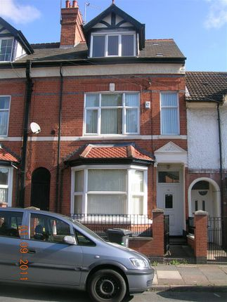 Thumbnail Terraced house to rent in Kimberley Road, Leicester