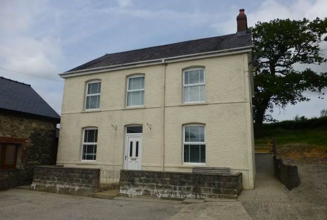 Thumbnail Detached house to rent in Llanfynydd Road, Carmarthen