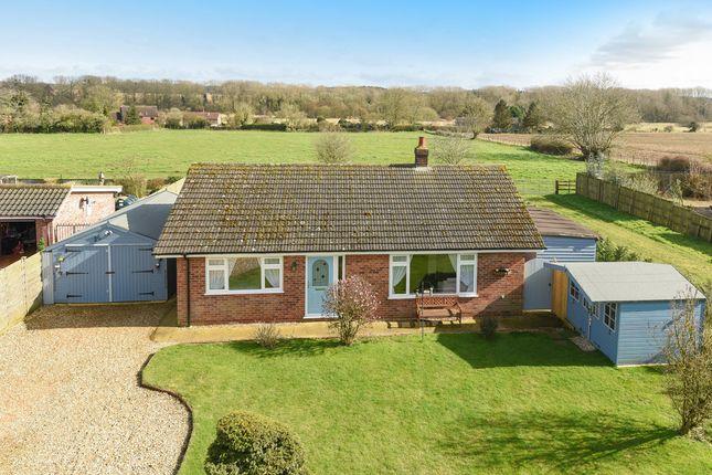 Thumbnail Detached bungalow for sale in East View, Raynham Road, Hempton, Fakenham